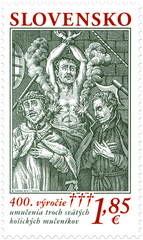 Slovakia - 2019, 400th Anniv. of the Martyr's Death (MNH)