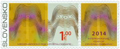 #682 Slovakia - International Year of Crystallography (MNH)