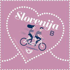 #1366 Slovenia - Greetings: Love (MNH)
