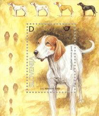 #615 Slovenia - Dogs S/S (MNH)