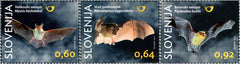 #1057-1059 Slovenia - 2014 Bats, Set of 3 (MNH)