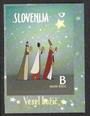 #1101-1102 Slovenia - 2014 Christmas, Booklet Stamps, Set of 2 (MNH)