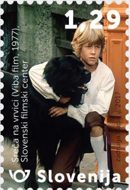 #1244 Slovenia - Scene From 1977 Film, Hang On, Doggy (MNH)