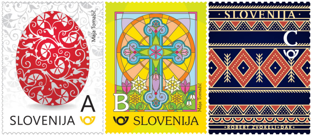 #1265-1267 Slovenia - 2018 Easter, Set of 3 (MNH)