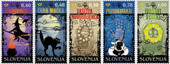 #1277-1281 Slovenia - Superstition and Magic, Set of 5 (MNH)