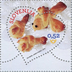 #1317 Slovenia - 2019 Greetings: St. Valentine's Day (MNH)