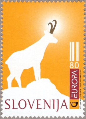 #285 Slovenia - 1997 Europa: Tales and Legends (MNH)