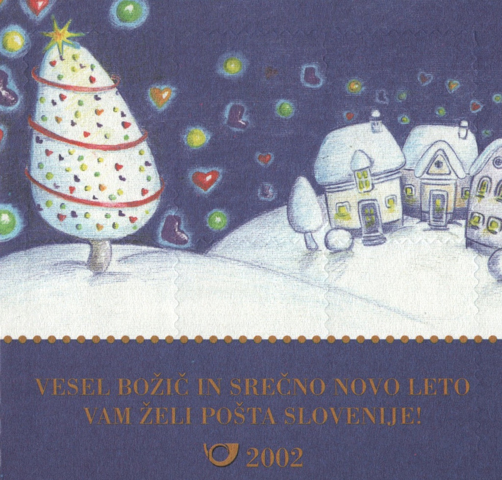 #475a Slovenia - New Year's Greetings, Complete Booklet (MNH)