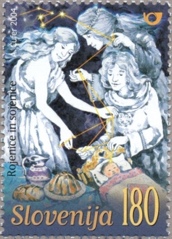 #581 Slovenia - Birth Fairies Rojenice and Sojenice (MNH)