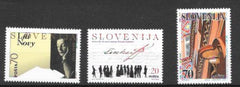 #224-226 Slovenia - Famous People, Set of 3 (MNH)
