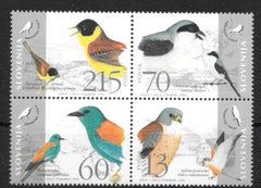 #235 Slovenia - Endangered Birds (MNH)