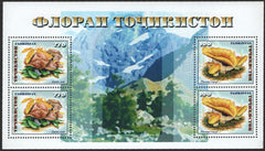 #153 Tajikistan - Mushrooms M/S (MNH)