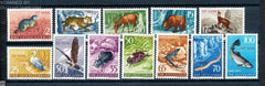 #93-104 Trieste (Zone B) - Stamps or Types of Yugoslavia Overprinted in Carmine (MNH)