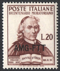 "#79 Trieste (Zone A) - Italy, No. 540, Overprinted Type ""h"" (MNH)"