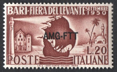 "#81 Trieste (Zone A) - Italy, No. 542, Overprinted Type ""g"" (MNH)"
