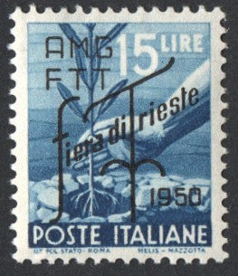 #82-83 Trieste (Zone A) - Italy, Nos. 473A and 474 Overprinted (MNH)
