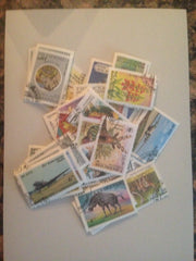 Uzbekistan Stamp Packet (50 Different Stamps) (Used)