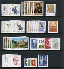 1968 Yugoslavia Year Set (MNH)