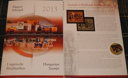 2013 Hungary Year Set (MNH)