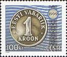 #363 Estonia - One Kroon Coin Type of 1997 (MNH)