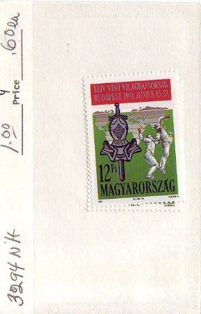 #3294 Hungary - 44th World Fencing Championships (MNH)