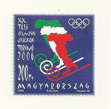 #3959 Hungary - 2006 Winter Olympics, Turin (MNH)