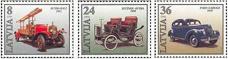 #426-428 Latvia - Car Production (MNH)