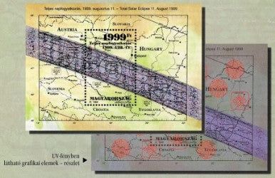 #3639 Hungary - Total Solar Eclipse S/S (MNH)