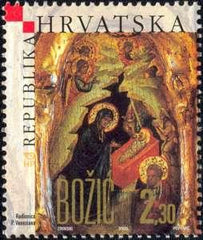 #602 Croatia - Christmas (MNH)