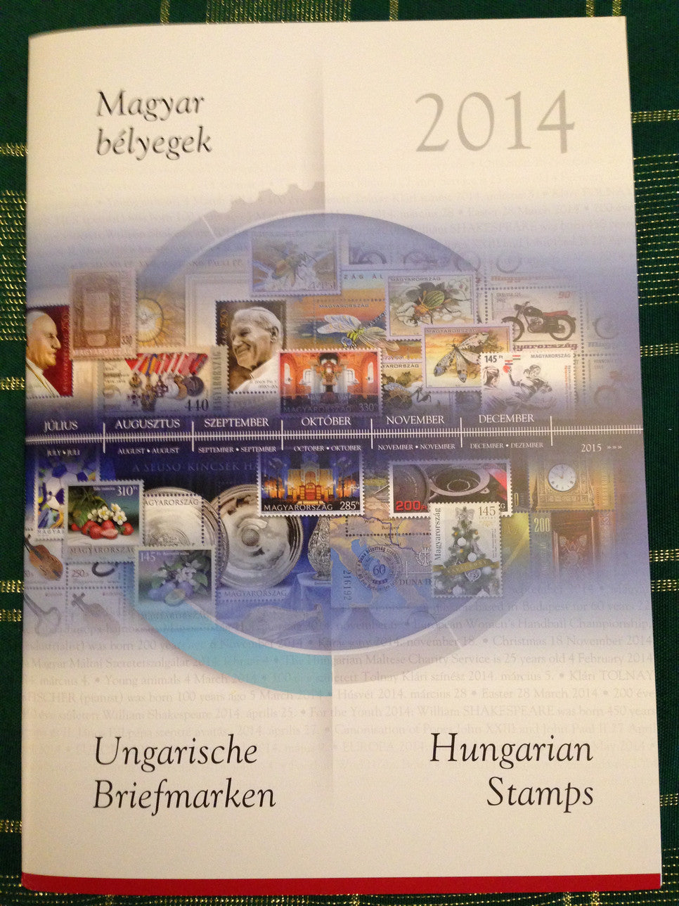 2014 Hungary Year Set