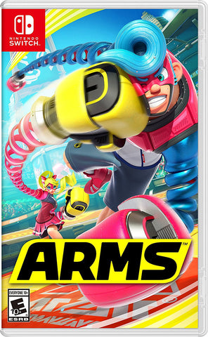NSwitch ARMS (US/Asian Version) - Kyo's Game Mart