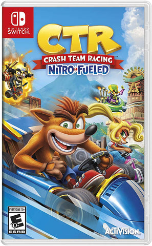 NSwitch Crash Team Racing Nitro Fueled (US/Asian Version)