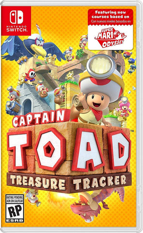 NSwitch Captain Toad Treasure Tracker (Asian Version)