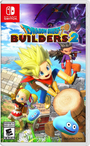 NSwitch Dragon Quest Builders 2 (US/Asian Version) - Kyo's Game Mart