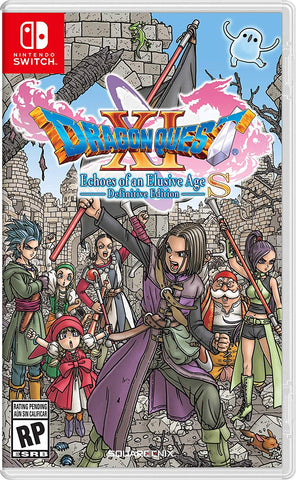 NSwitch Dragon Quest XI S Definitive Edition (US/Asian Version) - Kyo's Game Mart
