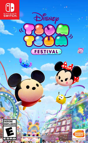 NSwitch Disney Tsum Tsum Festival (US/MDE Version) - Kyo's Game Mart