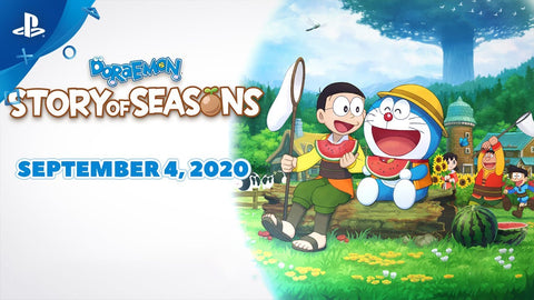 [Preorder] PS4 Doraemon Story of Seasons (R3 Version) - Kyo's Game Mart