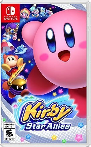NSwitch Kirby Star Allies (Asian Version)