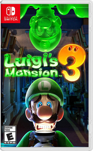 NSwitch Luigi's Mansion 3 (US/Asian Version)
