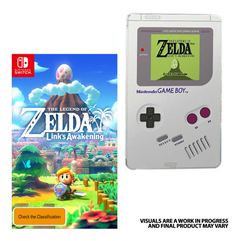 NSwitch The Legend of Zelda: Link's Awakening (US/Asian Version)
