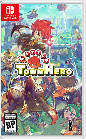 [Preorder] PS4/NSwitch Little Town Hero (R3/Asia/MDE Version) - Kyo's Game Mart