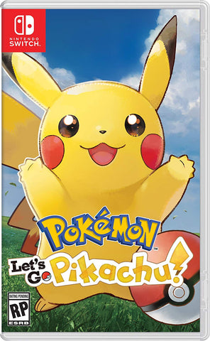 NSwitch Pokemon Lets Go Pikachu / Eevee (MDE) - Kyo's Game Mart
