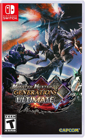 NSwitch Monster Hunter Generations Ultimate (US/Asian Version) - Kyo's Game Mart