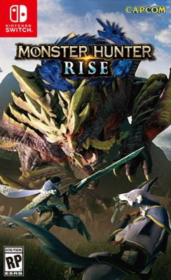 NSwitch Monster Hunter Rise (Asian/MDE Version) - Kyo's Game Mart