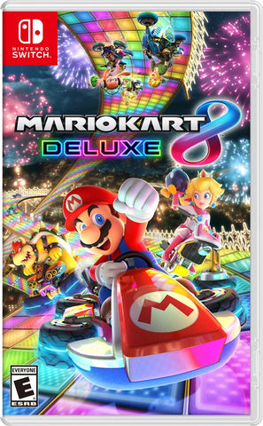 NSwitch Mario Kart 8 Deluxe (US/Asian Version)