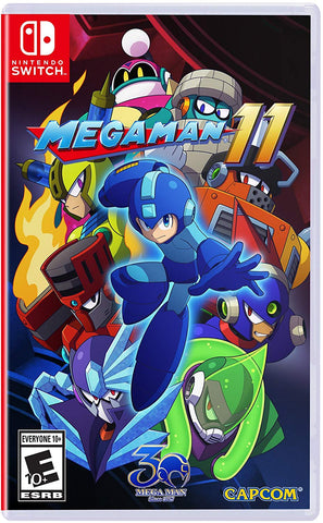 NSwitch Megaman 11 (Asian Version)