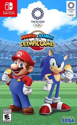 NSwitch Mario & Sonic at the Tokyo Olympics 2020 (US/MDE Version) - Kyo's Game Mart