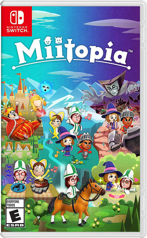 [Preorder] NS Miitopia (Asian/MDE Version) - Kyo's Game Mart