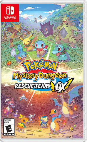 NSwitch Pokemon Mystery Dungeon Rescue Team DC (Asia/MDE Version)