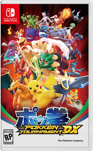 NSwitch Pokken Tournament DX (US/Asian Version)